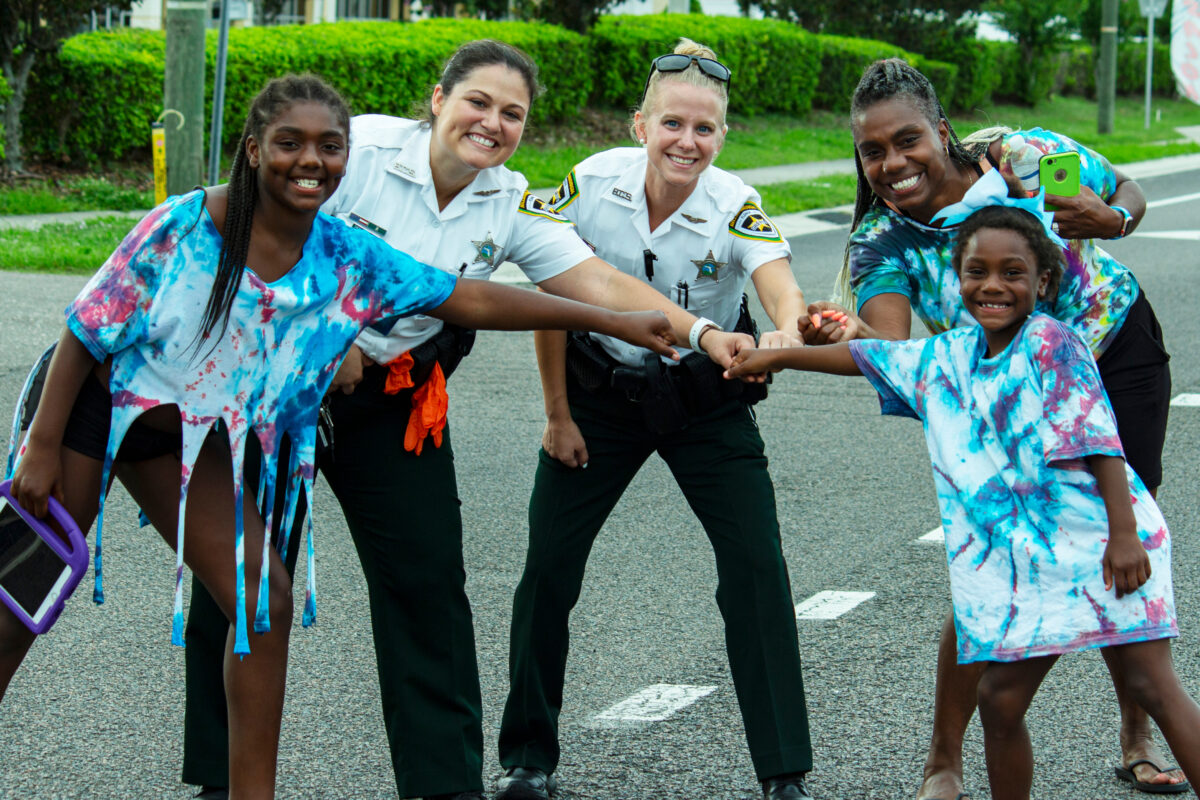 white policewomen and