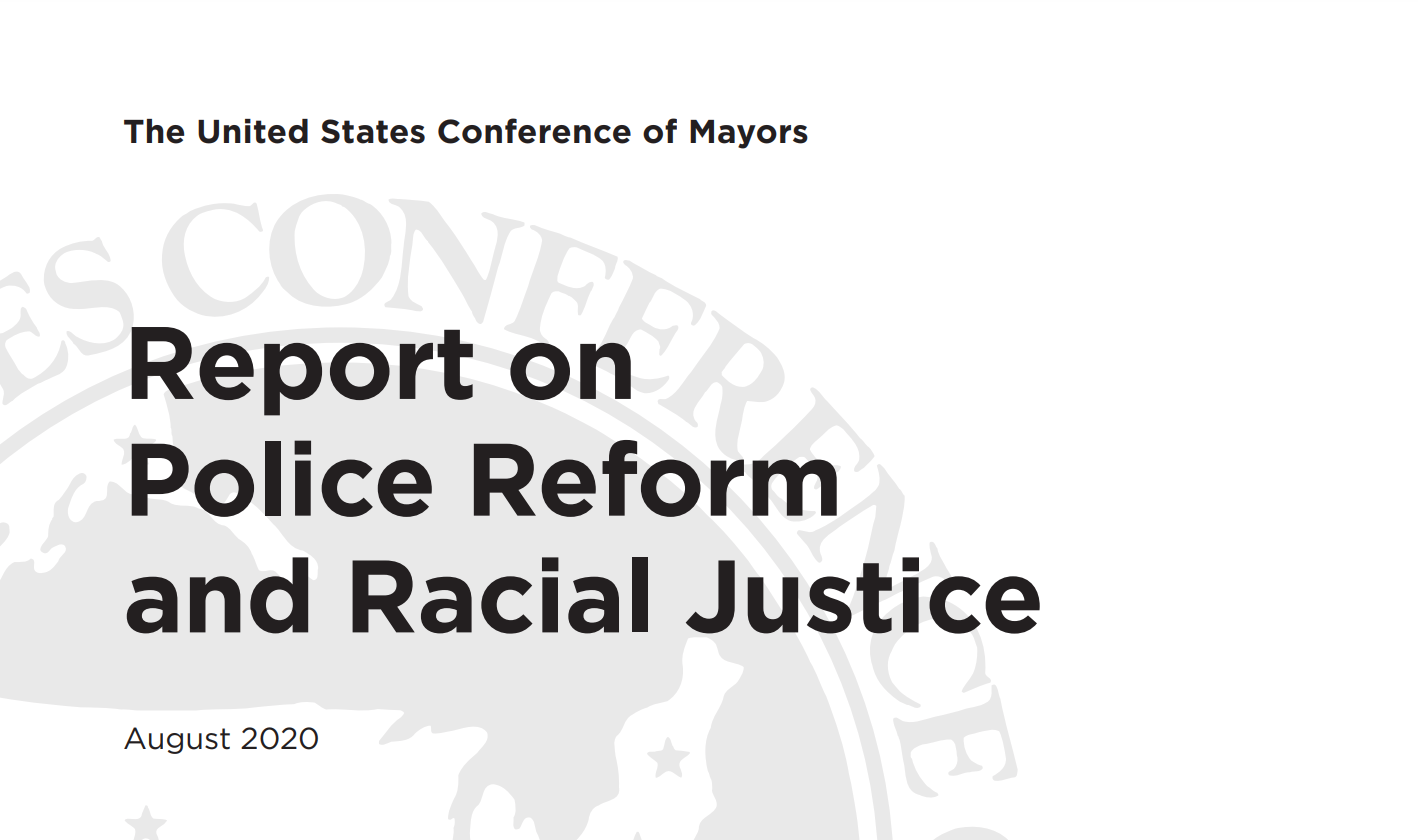 How One Solution Achieves 2020 Police Reform Report Recommendations