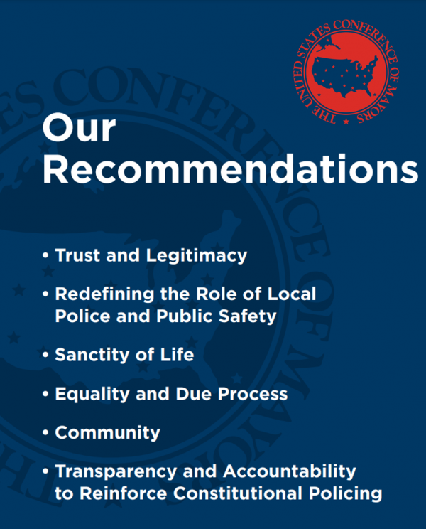 police reform recommendations